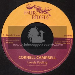 """Fruits Records-7""""-Lovely Feeling / Cornell Campbell"""