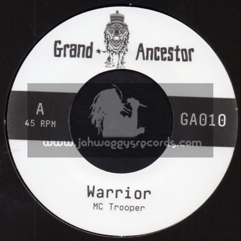 "Grand Ancestor-7""-Warrior / Mc Trooper + Warrior Dub / Jeph1"