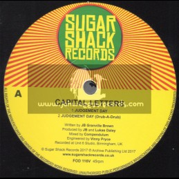 """Sugar Shack Records-12""""-Judgement Day / Capital Letters"""