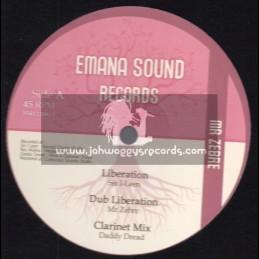 "Emana Sound Records-12""-Liberation / Sis I-Lean + No One / Ras Mykha - Mr Zebre"