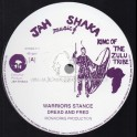 "JAH SHAKA MUSIC-12""-WARRIOR STANCE / DREAD AND FRED"