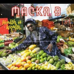 Greensleeves-CD-Health Is Wealth / Macka B