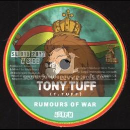 "Sir Logie International-7""-Rumours Of War / Tony Tuff + Rumours Of Dub / Keety Roots"