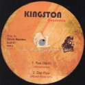 "Kingston Connexion-12""-Nowhere / Ras Danhi + River Flow On / Zap Pow + Respect / Pablo Paul + Take 5 / Herman Marquis"