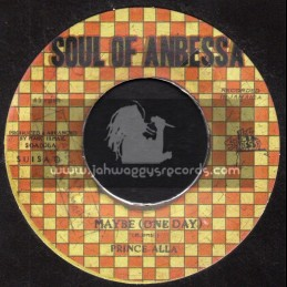 """Soul Of Anbessa-7""""-Maybe (One Day) / Prince Alla + Maybe One Dub / Roots Radics"""
