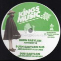 "Kings Music-12""-Burn Babylon / Anthony Q + Word Sound Power / Dan Corn"
