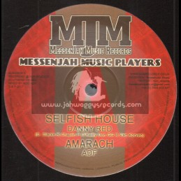 """MessenJah Music Records-10""""-Selfish House / Danny Red + Don't Bother Me / Danny Red"""