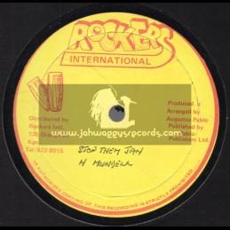 "Rockers International-12""-Stop Them Jah / Hugh Mundell"