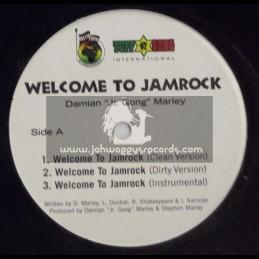 "TUFF GONG 12""-WELCOME TO JAMROCK/DAMIAN MARLEY"