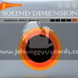 Soul Jazz Records-Double Lp-Jamaica Soul Shake Vol 1 / Sound Dimension