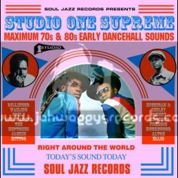 Soul Jazz Records-Triple Lp-Studio One Supreme - Maximum 70s & 80s Early Dancehall Sounds