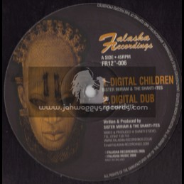 FALASHA RECORDINGS(ABA SHANTI I)DIGITAL CHILDREN/SIS MIRIAM + JAH LOVE/THE SHANTI ITES