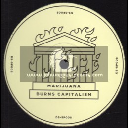 "Dub Stuy Records-12""-Marijuana Burns Capitalism / Blind Prophet Feat. Tenor Youthman"