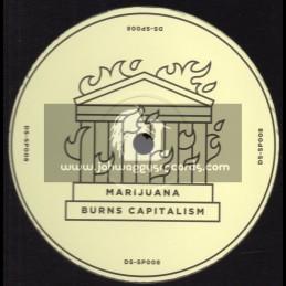 "Dub Stuy Records-12""-Marijuana Burns Capitalism / Blind Prophet Feat. Tenor Youthman"