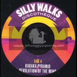 "Silly Walks-7""-Revolution Of The Mind / Kabaka Pyramid + Mind Revolution Dub / Russ Disciple"