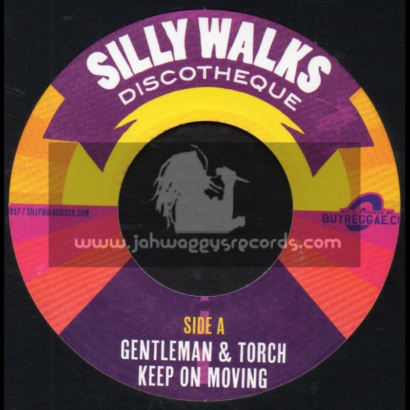 """Silly Walks-7""""-Keep On Moving / Gentleman And Torch + Big Banking / King Mas"""