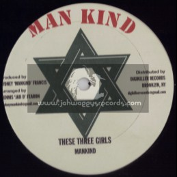 "MANKIND-12""-DIGIKILLER RECORDS-COUNRY LIFE + THESE THREE GIRLS"