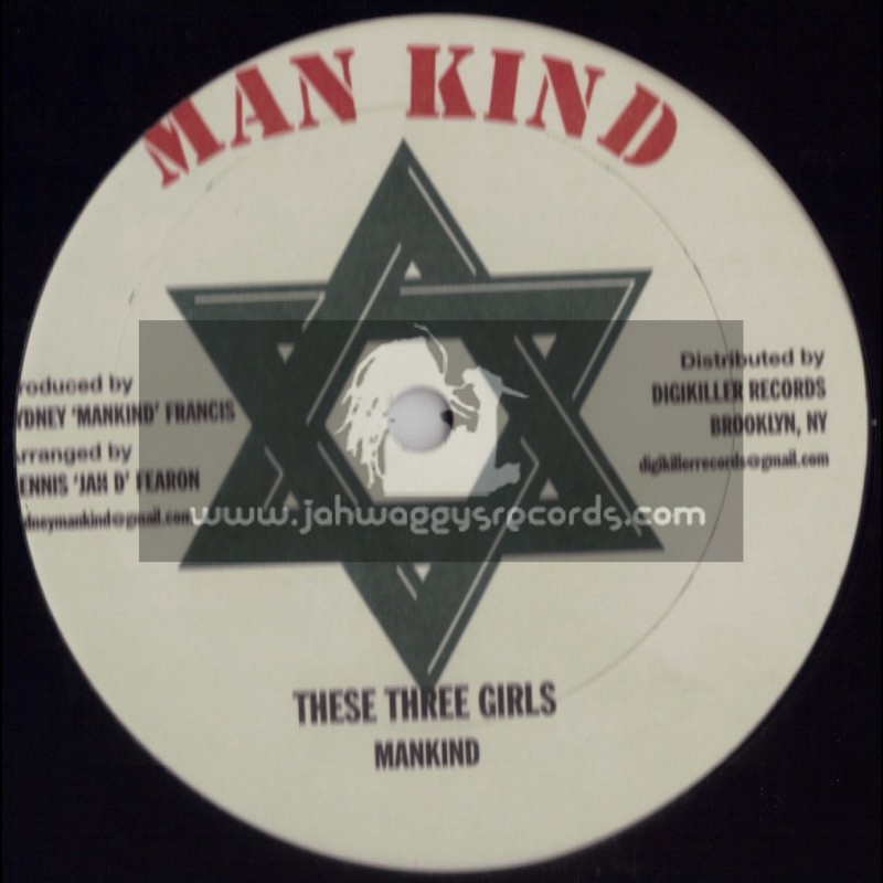 """MANKIND-12""""-DIGIKILLER RECORDS-COUNRY LIFE + THESE THREE GIRLS"""