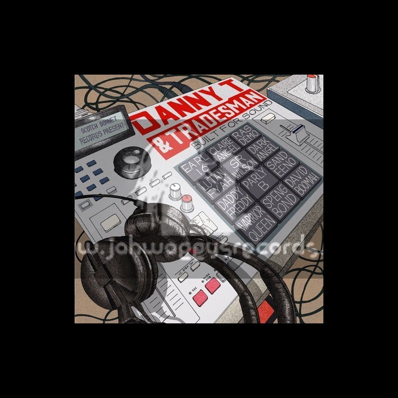 Scotch Bonnet Records-Lp-Built For Sound / Danny T And Tradesman / Various Artist
