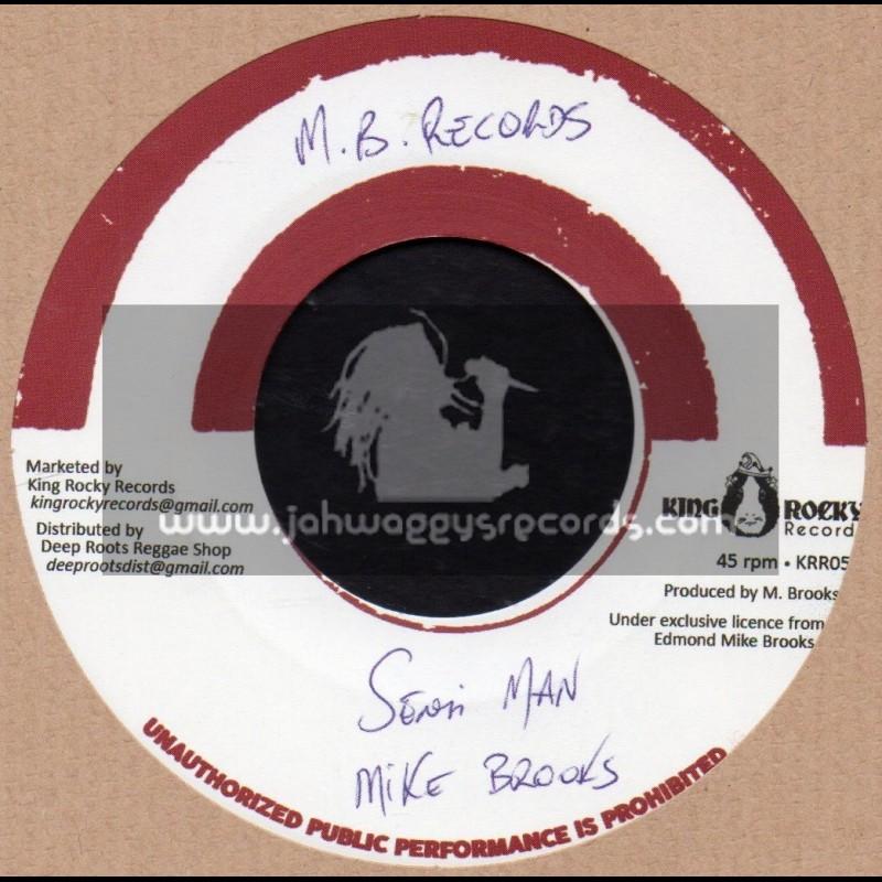 """M.B.Records-7""""-Sensi Man / Mike Brooks"""