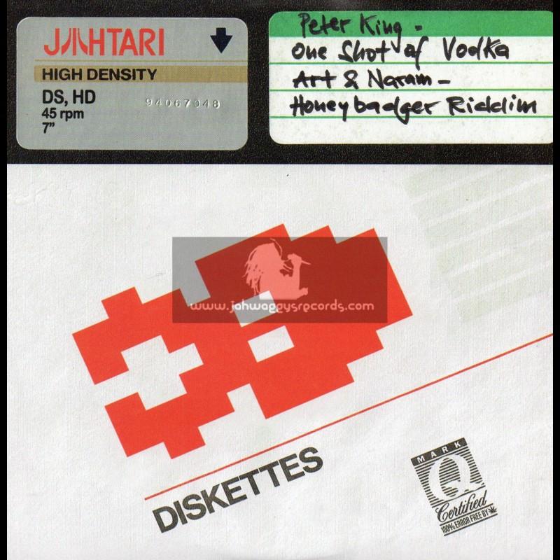 "Jahtari-7""-One Shot Of Vodka / Peter King + Honey Badger Riddim / Art & Naram"