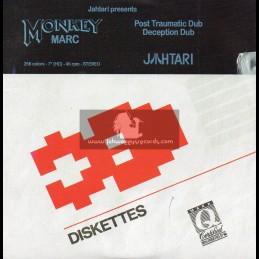 """Jahtari-7""""-Post Traumatic Dub / Monkey Marc + Deception Dub / Monkey Marc"""