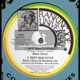 "Ranking Joe Universal-12""-Rent Man / Black Uhuru - Collectors Series"