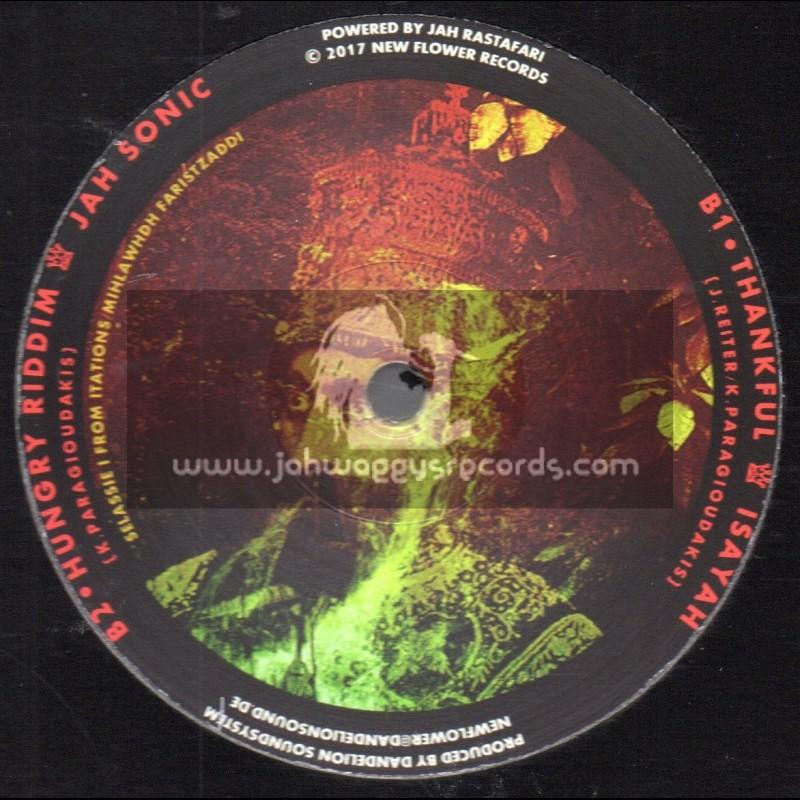 "New Flower Records-12""-Hungry Belly / Zoe Amanzi + Thankfull / Isayah"