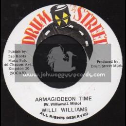 "Drum Street-7""-Armagiddeon Time / Willi Wiiliams"