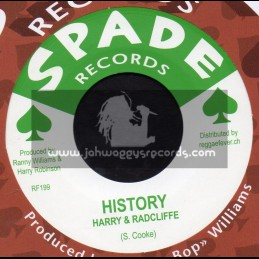 """Spade Records-7""""-History / Harry & Radcliffe + Just Be Alone / Harry & Radcliffe"""