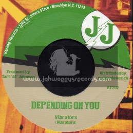 "J J-7""-Depending On You / Vibrators + Love Is Not Your Game / V. Vinstrick"