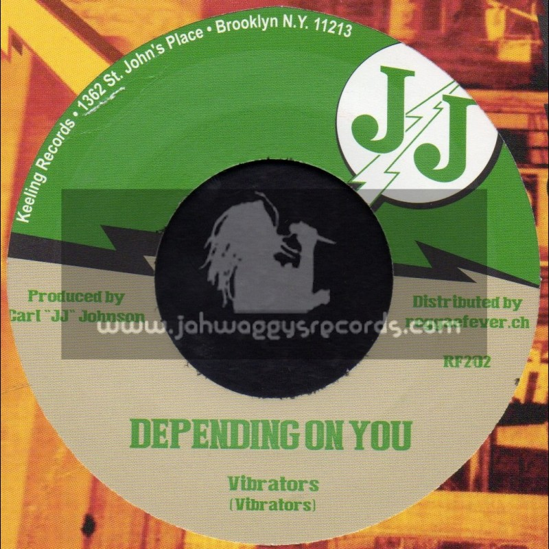 """J J-7""""-Depending On You / Vibrators + Love Is Not Your Game / V. Vinstrick"""
