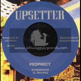 """Upsetter-7""""-Prophecy / Ethiopians + Life Is A Funny Thing / Ethiopians"""