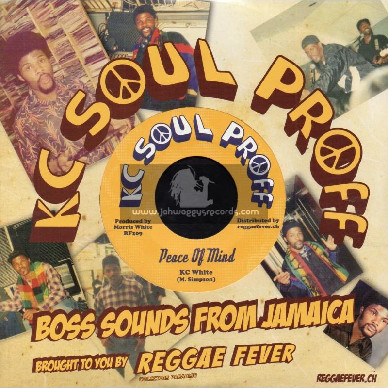 """Kc Soul Proff-7""""-Peace Of Mind / KC White"""