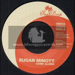 "One Drop-7""-Come Along / Sugar Minott"