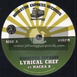 "Kingston Express Records-7""-Lyrical Chef / Macka B"
