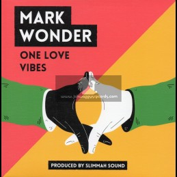 "Roots Tribe-7""-One Love Vibes / Mark Wonder + Dub Vibrations / Slimmah Sound"