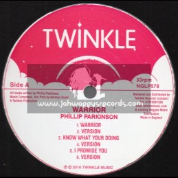 Twinkle-Lp-Pre Release-Warrior / Phillip Parkinson