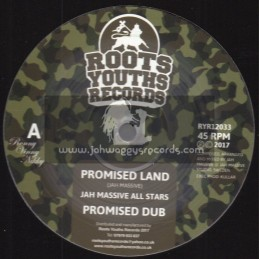 "Roots Youths Records -12""-Promised Land / Jah Massive All Stars + Return To Jah / Jah Massive All Stars"