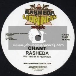 "Sis Rasheda Lioness Music-7""-Chant / Rasheda + Dub Chant / Counter Action Warrior"