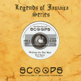 """Scoops-7""""-Writing On The Wall / Vibronics feat. Rod Taylor"""
