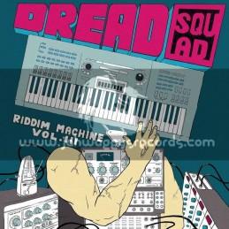 Superfly Studio-Lp-Dreadsquad / The Riddim Machine Vol 3