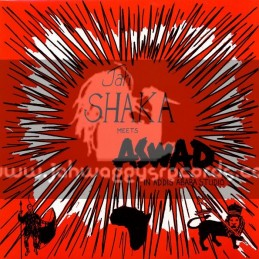 Jah Shaka Music-LP-Jah Shaka Meets Aswad In Addis Ababa Studio