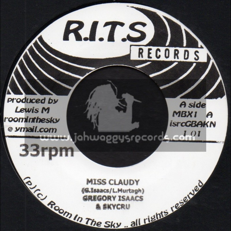 """R.I.T.S-7""""-Miss Claudy / Gregory Isaacs & Skycru + Nah Remember / Anthony Que & Skycru"""