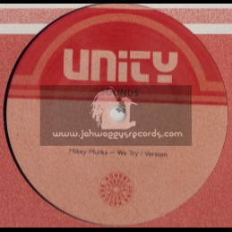 "UNITY SOUNDS-12""-WE TRY / MIKEY MURKA + WATCH HOW THE PEOPLE DANCING/KENNY KNOTS (DUBPLATE MIX)"