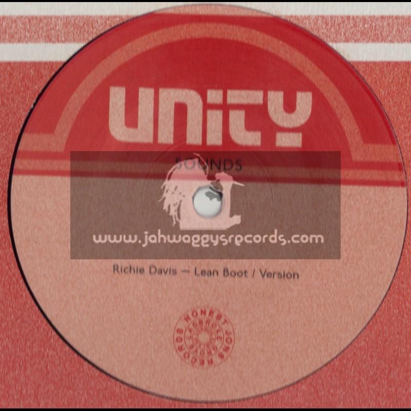 "UNITY SOUNDS-12""-LEAN BOOT / RICHIE DAVIS + RIDE THE RYTHM - MIKEY MURKA"
