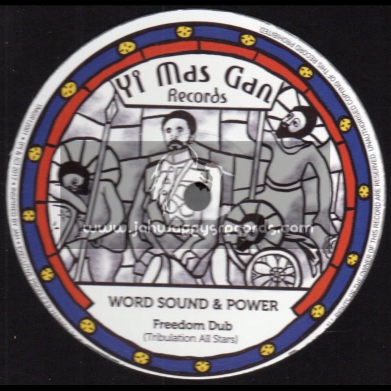 "Yi Mas Gan Records-12""-Freedom Dub / Tribulation All Stars + Not True / Rod Taylor"