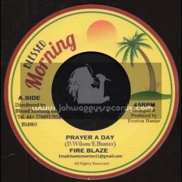 "Blessed Morning-7""-Prayer A Day / Fire Blaze + Blender Special / Blessed Morning All Stars"