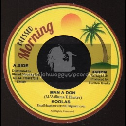 "Blessed Morning-7""-Man A Don / Koolas + Blender Special / Blessed Morning All Stars"