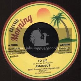 "Blessed Morning-7""-To Lie / Amadeus + Blender Special / Blessed Morning All Stars"